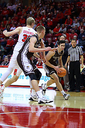 22 November 2017:  Bobby Frasco during a College mens basketball game between the Quincy Hawks and Illinois State Redbirds in  Redbird Arena, Normal IL