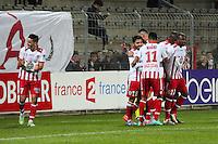 Joie Ajaccio - 17.12.2014 - Ajaccio / Paris Saint Germain - Coupe de la ligue -<br />Photo : Jean Pierre Belzit / Icon Sport