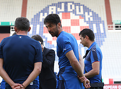 11.06.2015, Stadion Poljud, Split, CRO, UEFA Euro 2016 Qualifikation, Kroatien vs Italien, Gruppe H, Training Italien, im Bild Gianluigi Buffon // during training of Team Italy prior to the UEFA EURO 2016 qualifier group H match between Croatia and and Italy at the Stadion Poljud in Split, Croatia on 2015/06/11. EXPA Pictures © 2015, PhotoCredit: EXPA/ Pixsell/ Ivo Cagalj<br /> <br /> *****ATTENTION - for AUT, SLO, SUI, SWE, ITA, FRA only*****