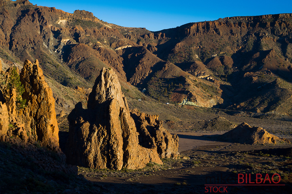 Llanos de Ucanca. Teide volcano. Teide National Park. Tenerife, Canary Islands, Atlantic Ocean, Spain