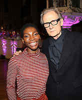 Michaela Coal and Bill Nighy attend the Nordoff Robbins Carol Service