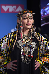 August 20, 2019 - New York, New York, United States - Madonna made an appearance in the 2018 MTV Video Music Awards Press Room at Radio City Music Hall on August 20, 2018 in New York City  (Credit Image: © Kristin Callahan/Ace Pictures via ZUMA Press)