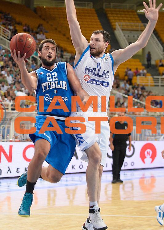 DESCRIZIONE : Atene Akropolis Cup Italia Grecia Italy Greece<br /> GIOCATORE : Marco Stefano Belinelli<br /> CATEGORIA : tiro penetrazione<br /> SQUADRA : Nazionale Italia Maschile Uomini<br /> EVENTO : Atene Akropolis Cup<br /> GARA : Italia Grecia Italy Greece<br /> DATA : 29/08/2013<br /> SPORT : Pallacanestro<br /> AUTORE : Agenzia Ciamillo-Castoria/R.Morgano<br /> Galleria : FIP Nazionali 2013<br /> Fotonotizia : Atene Akropolis Cup Italia Grecia Italy Greece<br /> Predefinita :
