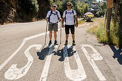 15-06-2017 NED: We hike to change diabetes day 6, Herrerias de Valcarce<br /> De zesde dag van Villafranca del Bierzo naar Herrerias de Valcarce. Een tocht van 26 km door heuvelachtig landschap en prachtige wijngaarden. Spain