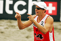 Volleyball, Sandvolleyball, World Tour Stavanger, Grand Slam, 02/07-05,<br />Bård Inge Pettersen ,<br />Foto: Sigbjørn Andreas Hofsmo, Digitalsport
