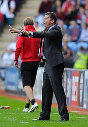 Bristol City manager, Steve Cotterill  - Photo mandatory by-line: Joe Meredith/JMP - Mobile: 07966 386802 - 18/10/2014 - SPORT - Football - Coventry - Ricoh Arena - Bristol City v Coventry City - Sky Bet League One