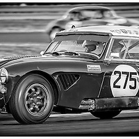 #275, Austin Healey 3000, Grace-Schildt, Silverstone Classic 2016, International Trophy for Classic GT Cars (Pre '66), Silverstone Circuit, England. U.K.