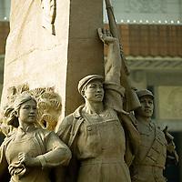 Imágenes cotidianas del centro de Beijing.  Beijing, China. 2007. Fotos: Bernardo De Niz