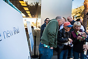 16 MARCH 2012 - SCOTTSDALE, AZ:  People wait in line to buy the New iPad at the Apple Store in Scottsdale, AZ. Several hundred people were in line at the Apple Store in the Scottsdale Quarter in Scottsdale, AZ, Friday to buy the New iPad.    PHOTO BY JACK KURTZ