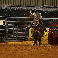 Libby Ezell | BUY AT PHOTOS.DJOURNAL.COM<br /> Calf Roping event at Friday's NE Mississippi Championship Rodeo