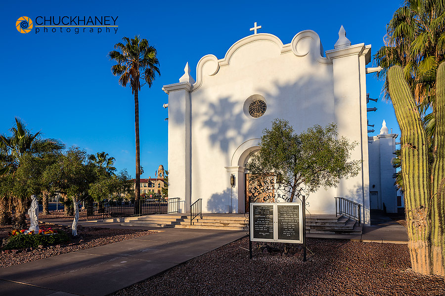 Immaculate Conception Church in Ajo, Arizona, USA
