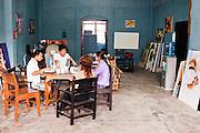 English lessons, Yangon, Myanmar.
