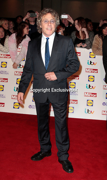 Pride of Britain Awards 2014 Red Carpet Arrivals at The Grosvenor House Hotel, London<br /> <br /> Photo Shows: Roger Daltry<br /> ©Exclusivepix
