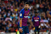 09 Luis Suarez from Uruguay of FC Barcelona during the Spanish championship La Liga football match between FC Barcelona and Real Sociedad on May 20, 2018 at Camp Nou stadium in Barcelona, Spain - Photo Xavier Bonilla / Spain ProSportsImages / DPPI / ProSportsImages / DPPI