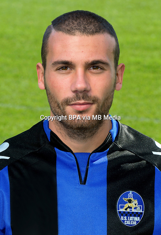 Italian League Serie B -2014-2015 / <br />  ( Us Latina Calcio ) <br /> Alberto Almici