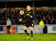 Bolton Wanderers Dorian Dervite during the The FA Cup third round match between Eastleigh and Bolton Wanderers at Silverlake Stadium, Ten Acres, Eastleigh, United Kingdom on 9 January 2016. Photo by Graham Hunt.