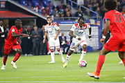 Traore Bertrand of Lyon during the French championship L1 football match between Olympique Lyonnais and Amiens on August 12th, 2018 at Groupama stadium in Decines Charpieu near Lyon, France - Photo Romain Biard / Isports / ProSportsImages / DPPI