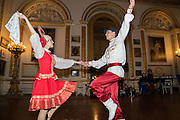 COSSACK DANCERS, The 20th Russian Summer Ball, Lancaster House, Proceeds from the event will benefit The Romanov Fund for RussiaLondon. 20 June 2015