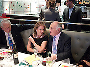 VERONICA WADLEY; MICHAEL HOWARD, Literary charity First Story fundraising dinner. Cafe Anglais. London. 10 May 2010. *** Local Caption *** -DO NOT ARCHIVE-© Copyright Photograph by Dafydd Jones. 248 Clapham Rd. London SW9 0PZ. Tel 0207 820 0771. www.dafjones.com.<br /> VERONICA WADLEY; MICHAEL HOWARD, Literary charity First Story fundraising dinner. Cafe Anglais. London. 10 May 2010.