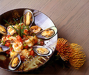 Shrimp and mussels, Hawaii
