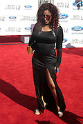 June 30, 2012-Los Angeles, CA : Recording Artist Chaka Khan attends the 2012 BET Awards held at the Shrine Auditorium on July 1, 2012 in Los Angeles. The BET Awards were established in 2001 by the Black Entertainment Television network to celebrate African Americans and other minorities in music, acting, sports, and other fields of entertainment over the past year. The awards are presented annually, and they are broadcast live on BET. (Photo by Terrence Jennings)