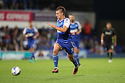 Ipswich Town defender Jonas Knudsen (3) during the EFL Sky Bet Championship match between Ipswich Town and Brighton and Hove Albion at Portman Road, Ipswich, England on 27 September 2016.