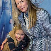 NLD/Amsterdam/20191116 - Filmpremiere Frozen II, Melissa Drost en .........