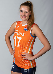 10-05-2018 NED: Team shoot Dutch volleyball team women, Arnhem<br /> Nicole Oude Luttikhuis #17 of Netherlands