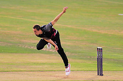 Josh Davey of Somerset in action.  - Mandatory by-line: Alex Davidson/JMP - 22/07/2016 - CRICKET - Th SSE Swalec Stadium - Cardiff, United Kingdom - Glamorgan v Somerset - NatWest T20 Blast