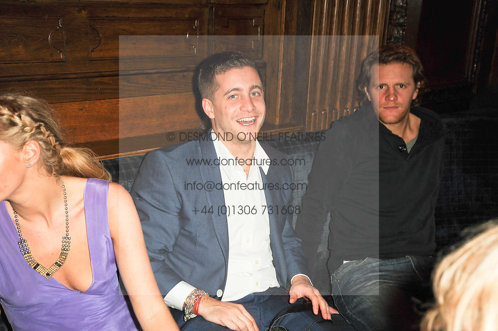 TYRONE WOOD at the Tatler Little Black Book Party held at Tramp, 40 Jermyn Street, London on 3rd November 2010.