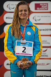 STETSENKO Anna UKR at 2015 IPC Swimming World Championships -  Women's 100m Backstroke S13