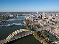 Cincinnati Skyline and Bridges