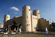United Arab Emirates: Abu Dhabi.Reconstructed gateway in the centre of Al Ain