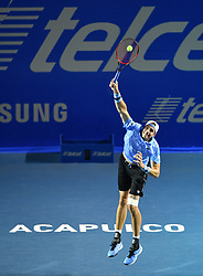 2019?3?2? .    ????????——?????????????????????.    3?1????????????? .    ????2019????????????????????????????2?1???????????????? .    ?????????..(SP)MEXICO-ACAPULCO-TENNIS-ATP-MEXICAN OPEN.(190302) -- ACAPULCO, March. 2, 2019 -- John Isner of the United States serves during the men's singles semifinal match between Nick Kyrgios of Australia and John Isner of the United States at the 2019 ATP Mexican Open tennis tournament in Acapulco, Mexico, on March. 1, 2019. Nick Kyrgios won 2-1. (Credit Image: © Xinhua via ZUMA Wire)