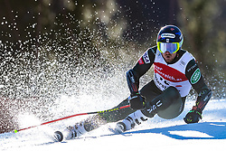 02.03.2020, Hannes Trinkl Weltcupstrecke, Hinterstoder, AUT, FIS Weltcup Ski Alpin, Riesenslalom, Herren, 1. Lauf, im Bild Ted Ligety (USA) // Ted Ligety of the USA in action during 1st run of men's Giant Slalom of FIS ski alpine world cup at the Hannes Trinkl Weltcupstrecke in Hinterstoder, Austria on 2020/03/02. EXPA Pictures © 2020, PhotoCredit: EXPA/ Johann Groder