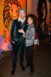 DAMIAN LEWIS and HELEN McCRORY at A Night of Reggae in aid of Save The Children held at The Roundhouse, Chalk Farm Road, London NW1 on 12th March 2014.