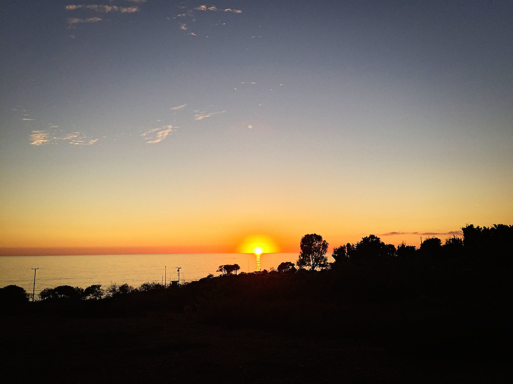 Sunset in Malibu, CA 2016