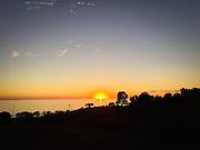 Sunset in Malibu, CA 2016