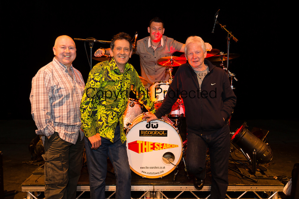 The Searchers at Theatre Royal Wakefield. From left to right Spencer James, Frank Allen, Scott Ottaway and John McNally.