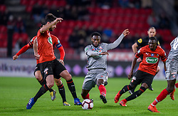 February 6, 2019 - Rennes, France - Jonathan Bamba ( LOSC )  - GRENIER Clement  (Credit Image: © Panoramic via ZUMA Press)