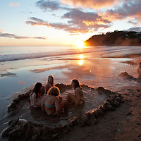 hotwater beach coromandel photos