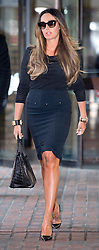 © London News Pictures. 18/02/2013 . London, UK.  Tamara Ecclestone, the daughter of Formula 1 Supremo, Bernie Ecclestone, leaving Southwark Crown Court on February 18, 2013 where two men are standing trial for allegedly blackmailing Tamara Ecclestone for for £200,000. Photo credit : Ben Cawthra/LNP