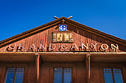 Grand Canyon Railway Depot, Grand Canyon National Park, Arizona USA