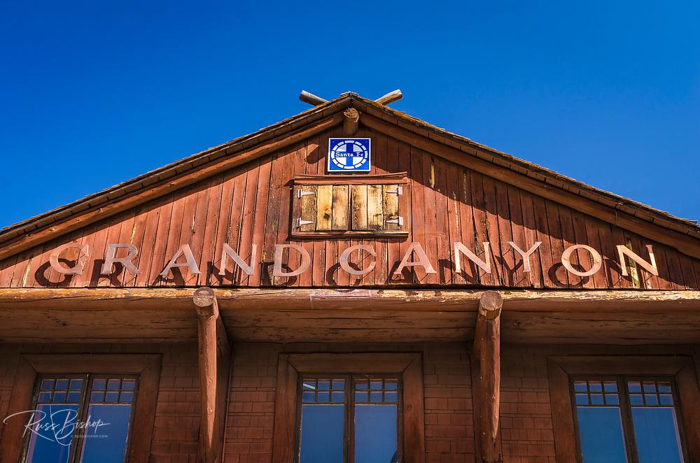 Grand Canyon Railway Depot, Grand Canyon National Park, Arizona USA