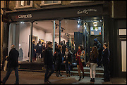 Antony Micallef private at Lazarides Rathbone, 11 RATHBONE PLACE, London. 12 February 2015