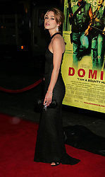 "Keira Knightley at the premiere of ""Domino"".<br />