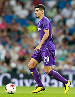 ACF Fiorentina's Gil Dias during Santiago Bernabeu Trophy. August 23,2017. (ALTERPHOTOS/Acero)