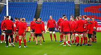 Rugby Union - 2019 Rugby World Cup - Wales Training Captain's Run pre-Semi-Final <br /> <br /> Welsh training at International Stadium Yokohama, Kanagawa Prefecture, Yokohama City.<br /> <br /> COLORSPORT/LYNNE CAMERON