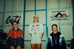 Archive photos of Tanja Blatnik, Slovenian swimmer.