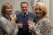JAMES PEMBROKE, JOSEPHINE PEMBROKE, Rachel Kelly celebrates the publication of ' Singing In the Rain' An Inspirational Workbook. 20 Cavendish Sq. London W1. 17 January 2019.